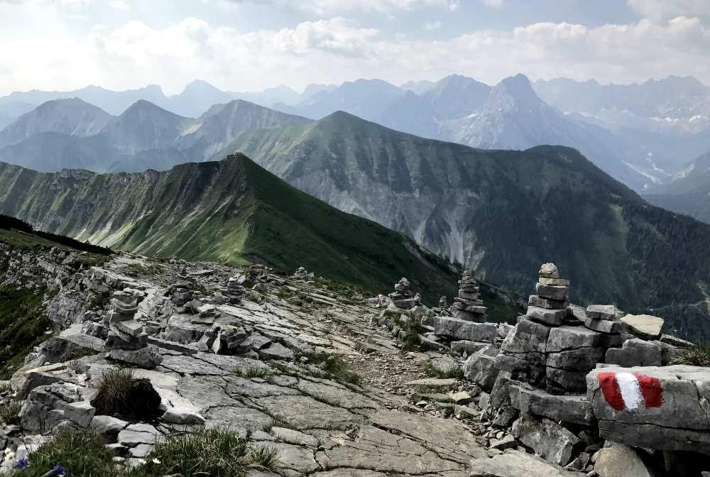 Sylvensteinsee wandern: 3 tägige Hüttentour