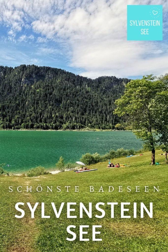 Sylvensteinsee baden - merk dir einen der Pins auf Pinterest!