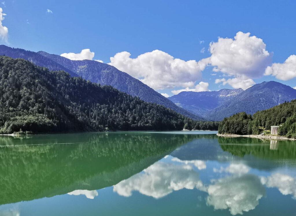 Hilf mit, den schönen Sylvensteinsee auch für die nächsten Jahre in dieser Form zu erhalten